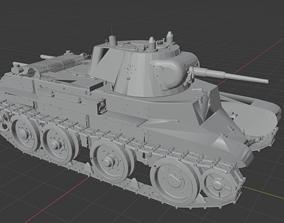 BT 7 Russian Tanks 3D print model