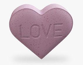 3D Heart Shaped Pill