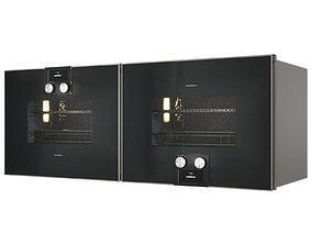 Gaggenau BS470101 and BS474101 Combi-steam oven 3D model 1