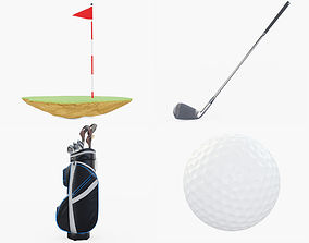 Golf Collection Lite 3D model