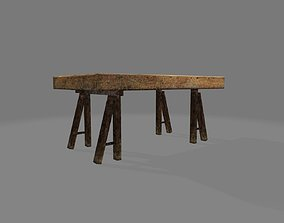 Flate Table 3D model