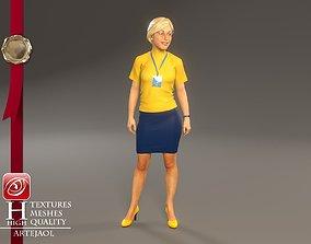 Hostess Female ECC 2130 0002 3D
