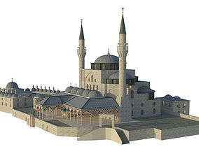 Mihrimah Sultan Mosque 3D