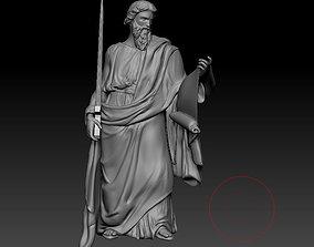 3D printable model historic Statue Pavel