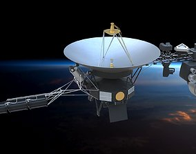 Voyager 1 laboratory 3D model