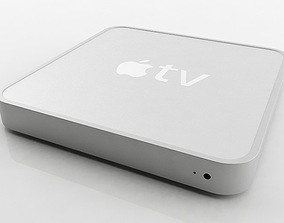 Apple TV 3D model video