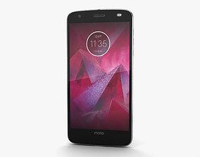 Motorola Moto Z2 Force Lunar Grey 3D