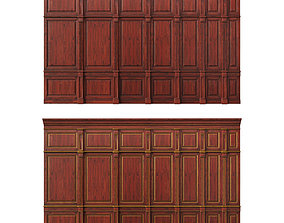 Wooden panel 04 3D model
