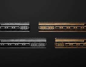 Geissele Super Modular Rail HK416 Handguard 3D asset