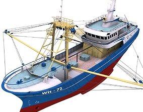 Fishing Boat - 01 - 3D