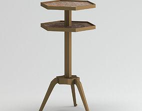3D model Stone Ramsa Tripod Table