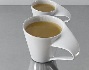 3D model tea cups 21 am145