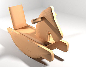 3D Rocking Horse - Type 1