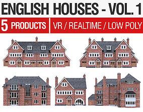 3D model English Houses - Vol 1