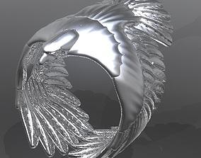 3D printable model Eagle Ring2019