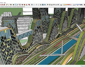 3D model Sketchup 270 - Building