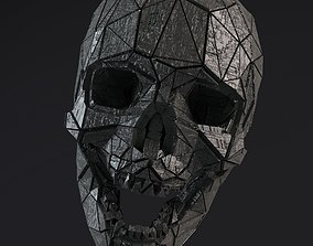 Sci-Fi Shapes - The Skull 3D model rigged