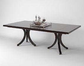 Baker Vienna Dining Table model 3D