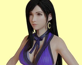 3D model Tifa Lockhart