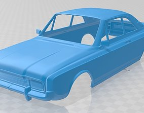 Taunus Coupe 1968 Printable Body Car