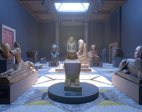 - UE4 - Museum VR - Vol II - Ancient Egypt 3D model