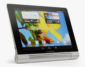 Lenovo Yoga Tablet 8 3D asset animated
