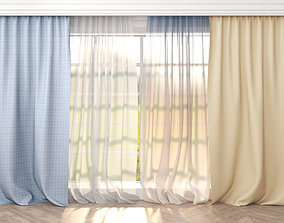 curtains 1 3D