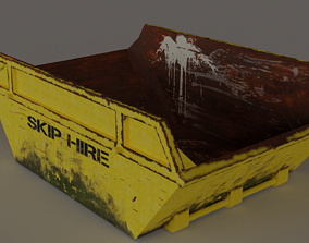 3D model Skip -Lowpoly PBR