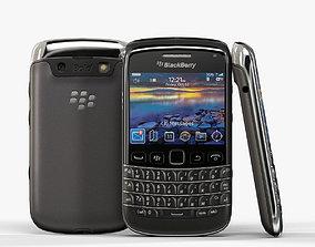BlackBerry Bold 9790 Black 3D model