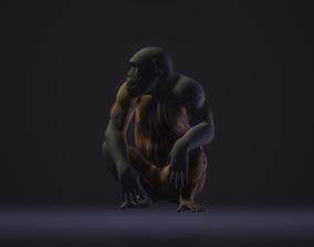 3D printable model Monkey tree