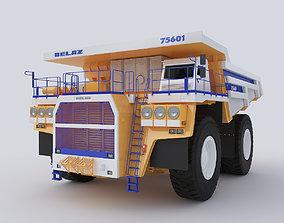 3D Belaz 75601 dumper