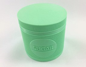 Sugar Jar - Sugar Pot - Sugar Can 3D print model