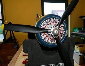 Dummy Engine for Flightline Corsair 3D print model