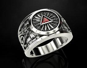 3D print model Mason Man ring 3