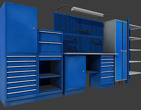 Workbench 3D asset
