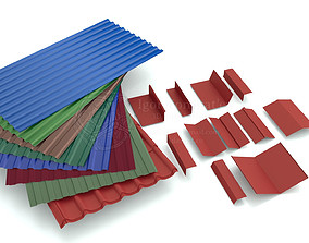 3D asset Roofing elements
