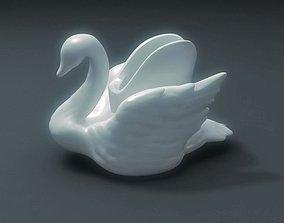 3D printable model Swan Vase