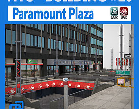 3D model NYC Building Paramount Plaza