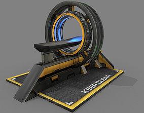 3D model Sci Fi Body Scanner