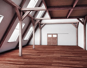 3D model rigged Angles Wood Interior