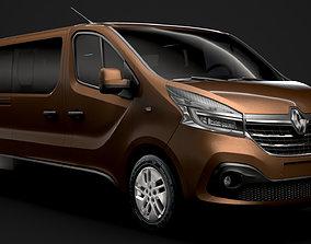 Renault Trafic Minibus LWB 2020 3D model