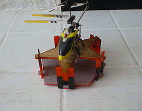 3D printable model RC Helicopter Pad AAA