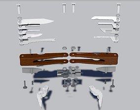 3D printable model multi-tool
