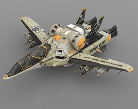 YF-35 Warthog VGF for Poser 3D model