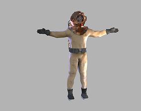 Retro diver 3D