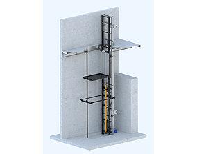 3D model Lift ALABUGA-FIBER T31