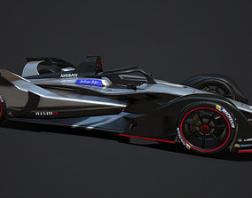 Gen 2 Formula E Nissan Car 3D model