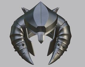 Baraka barbarian helmet from Mortal 3D printable model 1