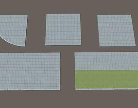 sidewalk 3D asset