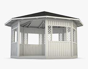 Gazebo Garden House 3D model